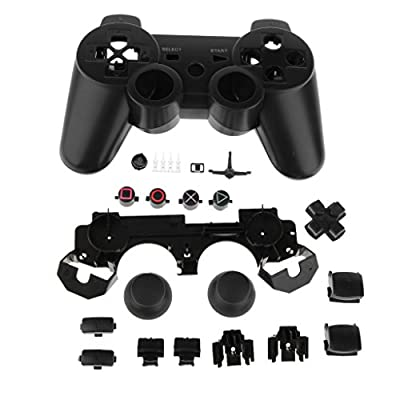 MagiDeal Replacement Full Housing Shell Case Mod Kit for PS3 Controller-Black from MagiDeal
