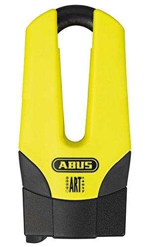 Abus 56910 bloccadisco meccanico, giallo