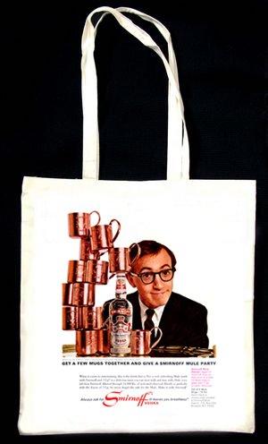 smirnoff-publicite-1966-woody-allen-sac-fourre-tout