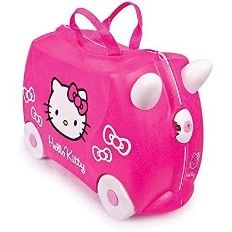 Trunki 0131-GB01 - Equipaje infantil Hello Kitty, 18 L, color rosa