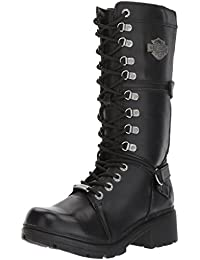 9a3607292164 Harley Davidson Womens Harland Leather Boots