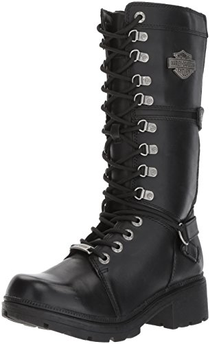 Harley Davidson Harland D83987-MEDIUM Other Leather Womens Boots - Black - W - 40