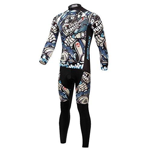 Zoom IMG-3 skysper abbigliamento ciclismo set sportivo