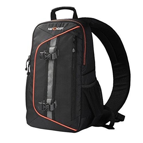 K&F Concept Damen Kameratasche Sling Rucksack SLR Slingbag für Canon Nikon Kamera 23*14*37cm S (Sling-stil-umhängetasche)