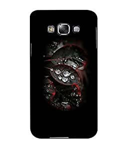 Mental Mind 3D Printed Plastic Back Cover For Samsung Galaxy E5- 3DSAME5-G1816