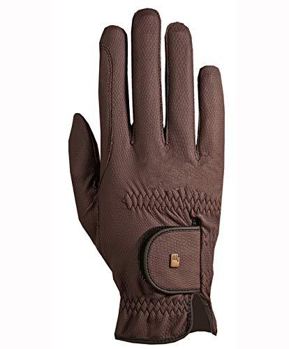 Roeckl Roeck Grip Handschuh, Unisex, Reithandschuh, Mokka, Größe 6,5