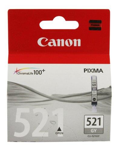 Canon - CLI-521GY - Cartouche d'Encre d'Origine - Gris