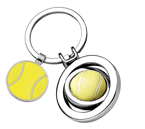 Ten Llavero de Pelotas de Tenis cod.EL7498 cm 7,6x3,5x1h by Varotto & Co.