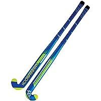 kookaburra Unisex Viper L Hockey Stick, Blue/Green, Size 36.5/Large