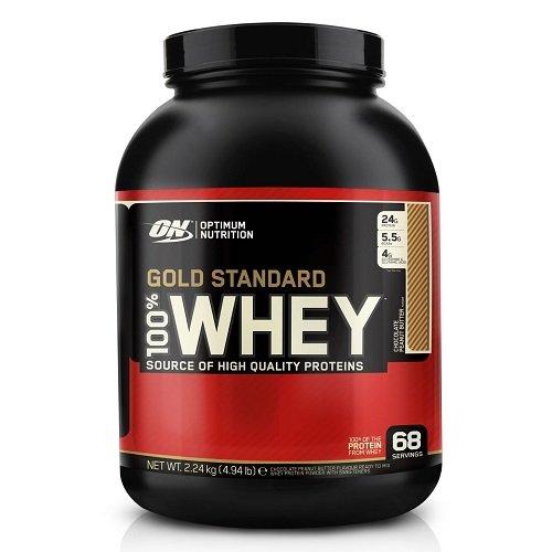 Optimum Nutrition Gold Standard 100% Whey Proteína en Polvo, Chocolate Peanut Butter - 2240 g