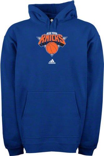 Kinder Ausgeführt Kleidung (New York Knicks Adidas Kids (4–7) Primär Logo Kapuzen Sweatshirt, Blau)