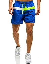 BOLF – Pantalons De Bain – Pantalons courts – Homme 7G7 Motiv
