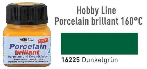 Hobby Line Porzellanmalfarbe, 20ml, Dunkelgrün