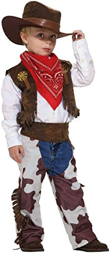 Toddler Cowboy Fancy dress costume Toddler (2t Kostüme Cowboy)