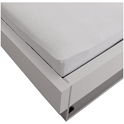 Julie julsen franela Premium sábana bajera en todos los tamaños y muchos colores, algodón, blanco, 70 cm x 140