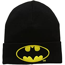 Gorro de punto Batman Logotipo - Bordado