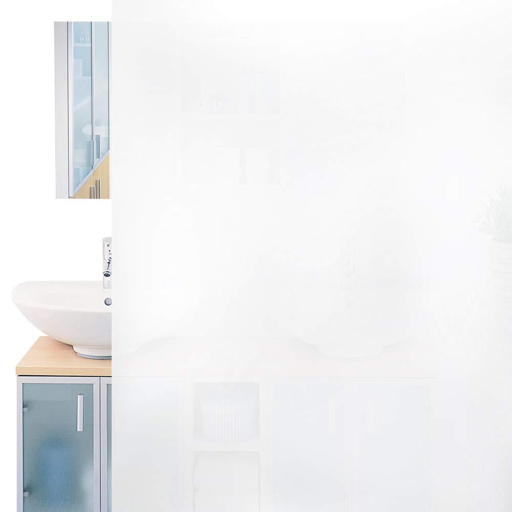 Rabbitgoo Fensterfolie Milchglas Selbstklebend Milchglasfolie