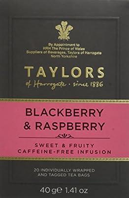 TAYLORS OF HARROGATE Infusion Blackberry & Raspberry 20 Sachets 40 g