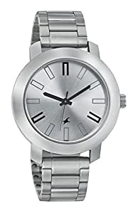Fastrack Casual Analog Silver Dial Men's Watch - 3120SM01