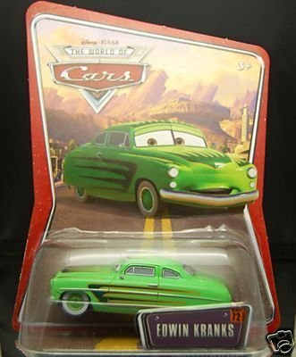 Edwin Kranks Disney Pixar World Of Cars Edition K-Mart Exclusive 1:55 Scale Mattel Toys by Mattel