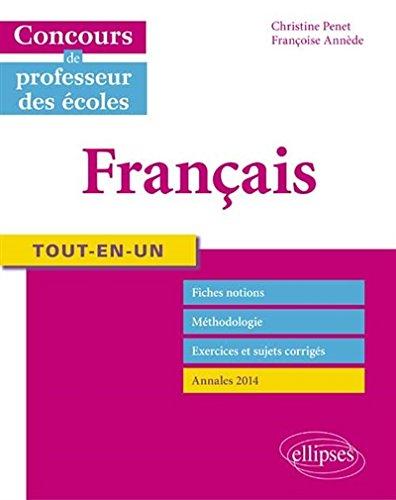 Tout-en-un Français Concours de Professeurs des Écoles