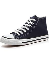Zapatillas Casual Cordones Zapatos Mocasines Zapatos De Zapatos De Lona Unisex