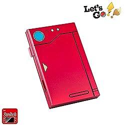 Coltum Prämie Game Card Case für Nintendo Switch, tragbar und dünn, Aluminium Schutzhülle Aufbewahrungsbox Spiele Tasche für 6 Spiele --Rot