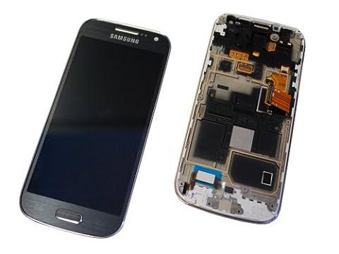 Samsung I9195 Galaxy S4 Mini LCD Touch Screen Display Glas Rahmen black Origi... (Galaxy S3 Display Kaufen)
