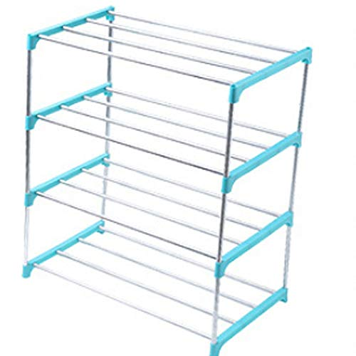 Yao Simple Multi Layer Shoe Rack Stainless Steel Easy Assemble Storage Shelf