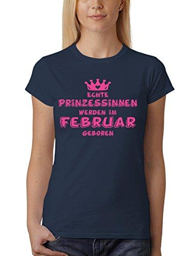 rt Fit Prinzessinnen Werden im Februar Geboren Navy Gr. S ()