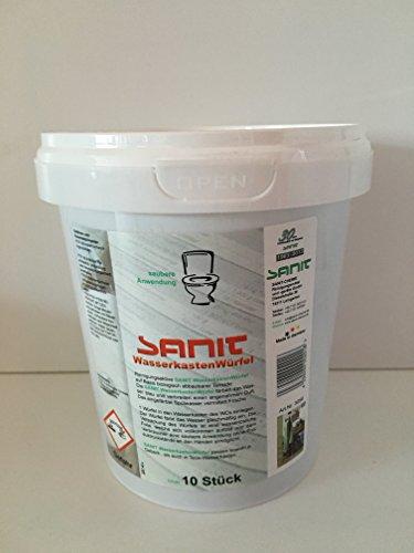 Preisvergleich Produktbild Sanit SNI3056 Wasserkastenwürfel, 10 Stück