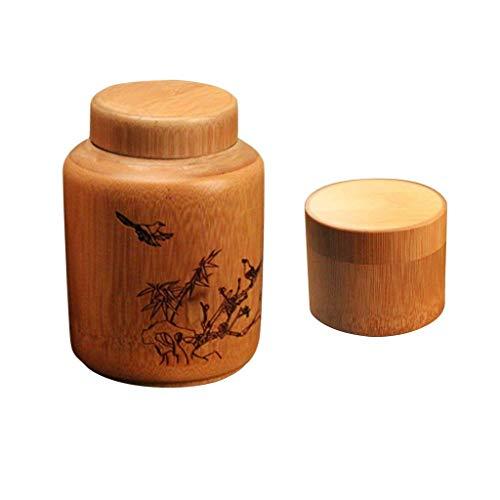 Backbayia Aufbewahrungsdosen für Tee und Kaffee, 2 Stück