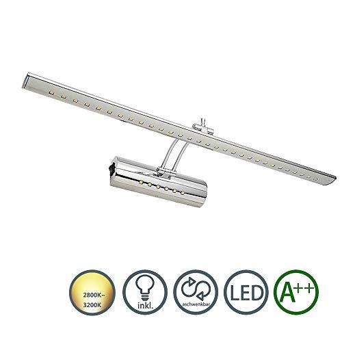 Hengda® acero inoxidable 11W LED espejo luz espejo lámpara luz de pared...