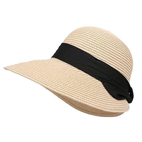 Sombrero Paja Mujer Primavera Verano Viajes tejiendo