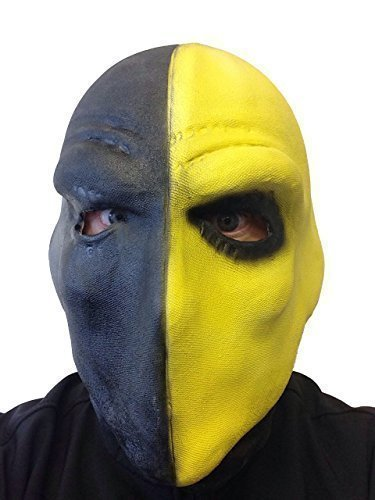 Deathstroke Latex Maske Slade Wilson Arrow TV Serie Comic (Slade Wilson Deathstroke Kostüm)