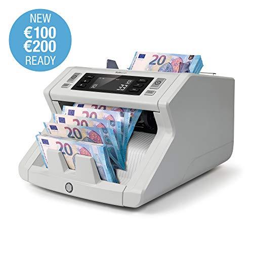 Safescan 2250 - Contabanconote per banconote non miste con rilevamento della contraffazione in 3 punti