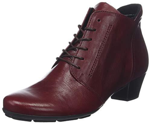 Gabor Shoes Damen Basic Stiefeletten, Rot (Dark-Red 55), 41 EU