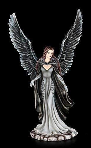 Dark Angel Figur - Raben Königin - Gothic Engel Elfe Krähe
