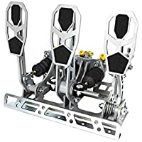 Racing Pedals RPB0001 Pedalera Kit Car Embrague Hidráulico