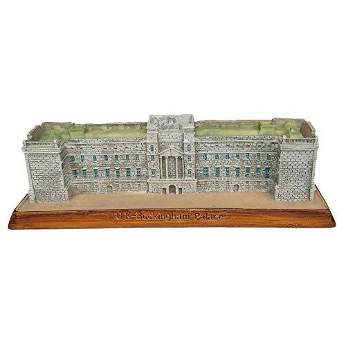 Buckingham Palace Statue (DECORATION Hauptdekorationen, Wahrzeichen-Gebäude-Modelldekorationen, Buckingham Palace, Großbritannien, dekorative Sammlungen, kleine Skulpturen, touristische Souvenirs, (15 x 5,4 x 4 cm))