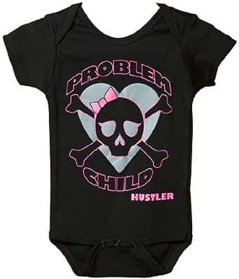 HUSTLER® Problem Child Strampelanzug Kinder BLACK 6-12 MON