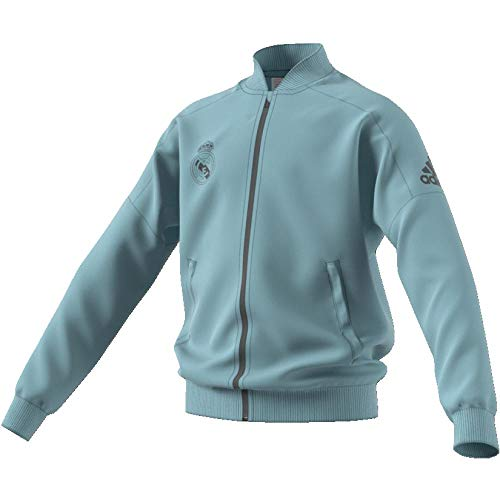 adidas Kinder Real Madrid Trainingsjacke, Ashgre, 152