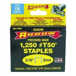 arrow-t50-staples-box-1250-8mm-5-16in