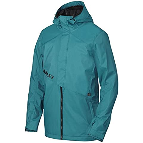 Oakley Jigsaw Biozone Shell Men's Jacket blue Aurora Blue Size:L
