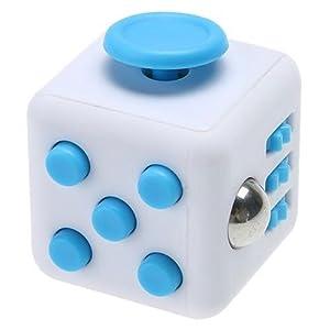 Enjoy juyi Fidget Cube Soulage, bleu
