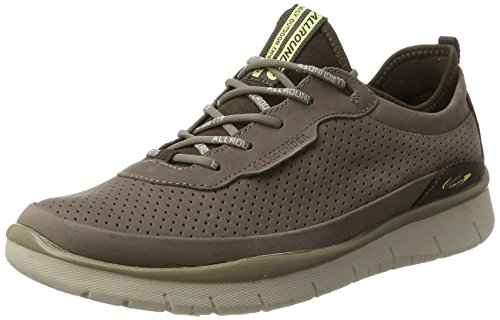Allrounder by Mephisto Maniko, Chaussures Multisport Outdoor Homme Braun (Earth)