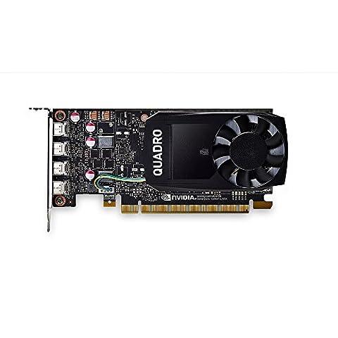 PNY VCQP2000-PB Nvidia Quadro P2000 Grafikkarte (5GB GDDR5, 160-bit) schwarz