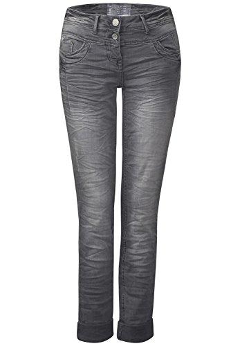 Cecil -  Jeans  - Basic - Donna Grau (light grey used wash) 28W x 32L