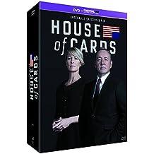 House of Cards - Intégrale saisons 1-2-3 [DVD + Copie digitale]-coloris aléatoire
