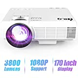 Best Micro Projectors - DR.Q 1800 Lumens Projector, 4 Inch Mini LCD Review